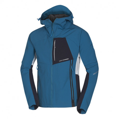 NORTHFINDER men's hybrid-softshell jacket in changing weather conditions 3-layer RONDY