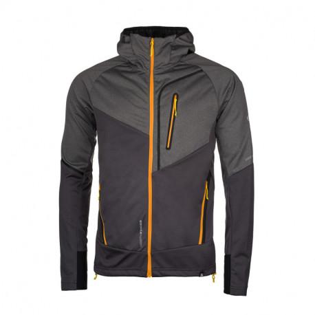 NORTHFINDER men's mix-softshell jacket permeable comfort VONNSY
