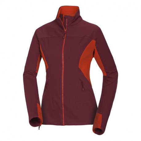 NORTHFINDER women's softshell jacket in changing weather conditions 3-layer HERLINA