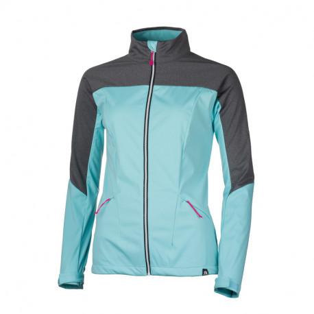 NORTHFINDER women's mix-softshell jacket permeable comfort VINNYLA