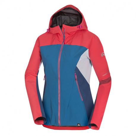NORTHFINDER dámská bunda hybrid-softshellová pro různé klimatické podmínky 3L RONDA