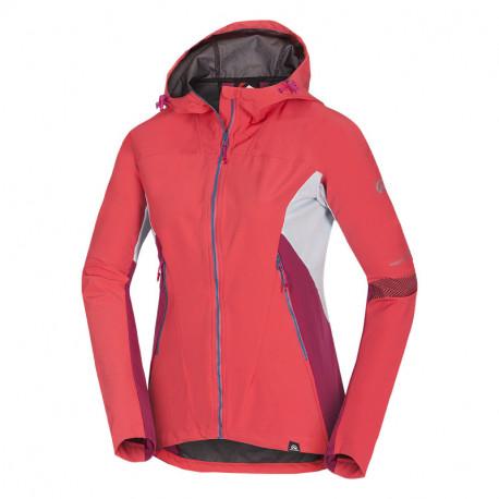 NORTHFINDER dámska bunda hybrid-softshellová pre rôzne klimatické podmienky 3L RONDA