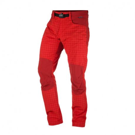 NORTHFINDER pánske nohavice tkané-káro pre outdoorové aktivity 1L GREJOL