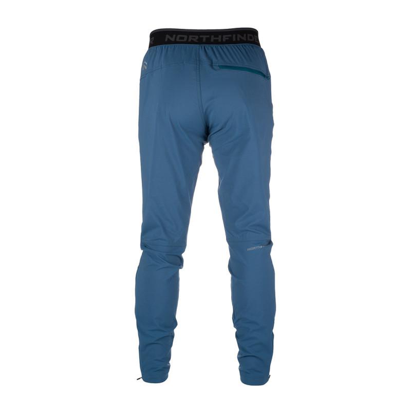 NORTHFINDER pánské kalhoty ultra-lehké pro outdoorové aktivity 1L zúžené LUKHAS - Technický lehký materiál zajišťuje kvalitní ochranu, odolnost a optimální regulaci tělesné teploty během outdoorových aktivit. Volnost pohybu zajišťuje pohodlný střih kalhot - tzv. mrkváče, zipové rozšíření nohavic ve spodní části. Kalhoty jsou vhodné na turistiku, outdoorové aktivity, volný čas i běžné nošení.