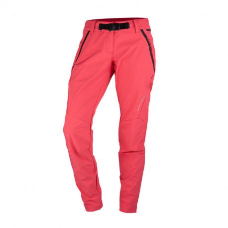 NORTHFINDER dámské kalhoty odolný-softshell pro outdoorové aktivity 3L SUNSWA