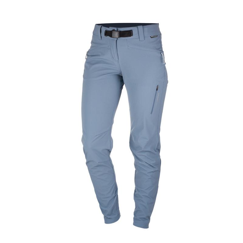 NORTHFINDER dámské kalhoty tkané-strečové pro outdoorové aktivity 1L zúžené BALSTA - Technický lehký materiál zajišťuje kvalitní ochranu, odolnost a optimální regulaci tělesné teploty během outdoorových aktivit. Volnost pohybu zajišťuje pohodlný střih kalhot - tzv. mrkváče, zipové rozšíření nohavic ve spodní části. Kalhoty jsou vhodné na turistiku, outdoorové aktivity, volný čas i běžné nošení.