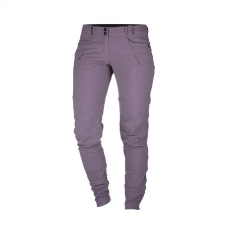 NORTHFINDER dámské kalhoty 2v1 tkané-ripstop pro outdoorové aktivity 1L CARITA