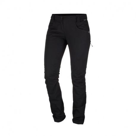 NORTHFINDER dámské kalhoty bavlnený vzhled pro outdoorové aktivity 1L ENGRITA