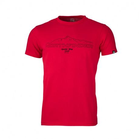 NORTHFINDER pánske tričko bavlnené tatry ANTIN
