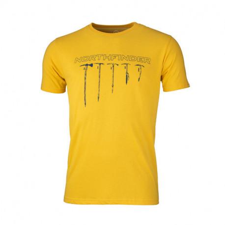 NORTHFINDER pánske tričko bavlnené cepín BENJIL