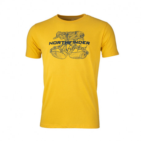 NORTHFINDER pánske tričko bavlnené výstroj DEWIN
