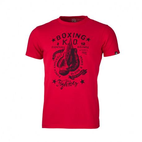 NORTHFINDER pánske tričko bavlnené boxing BISTANO