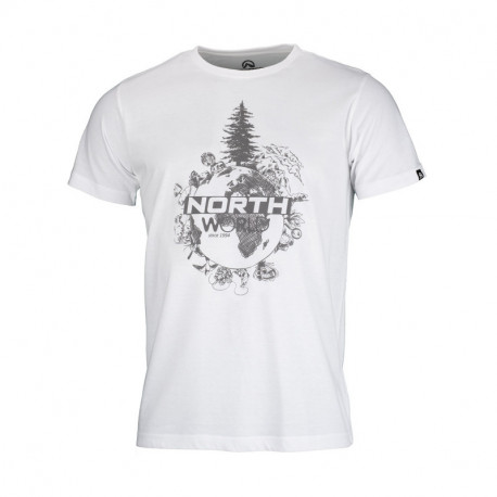 NORTHFINDER pánske tričko bavlnené world TERON