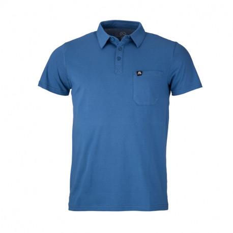 NORTHFINDER pánské triko bavlněná polokošile ASYM