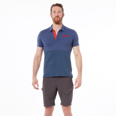 NORTHFINDER men's bike t-shirt polo MERTON