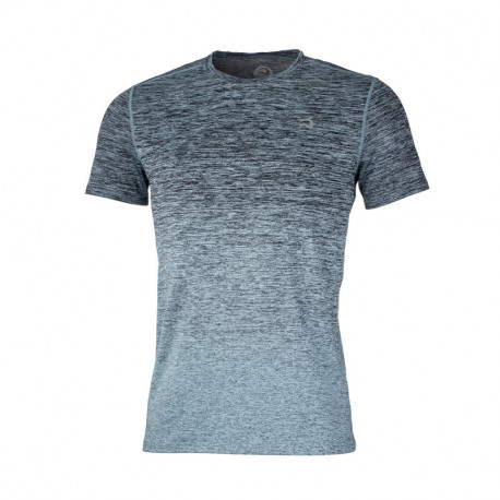 NORTHFINDER pánské triko běžecké melanžový vzhled BRTINHAL
