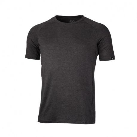 NORTHFINDER pánské triko běžecké melanžový vzhled BOLTIN