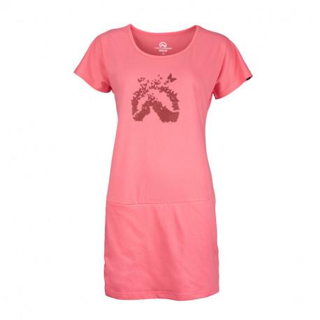NORTHFINDER dámské triko bavlněné dlouhé DAPHNIJA