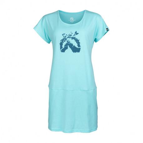 NORTHFINDER dámske tričko bavlnené dlhé DAPHNIJA