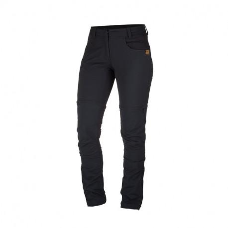 NORTHFINDER dámské kalhoty 2v1 north bavlnený vzhled NOTHIA