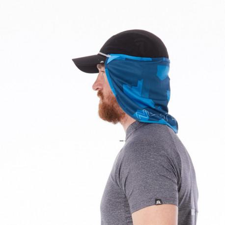 NORTHFINDER unisex maska na tvár a krk pro všechny ročné obdobia UPF5+ NECKFACEMASK