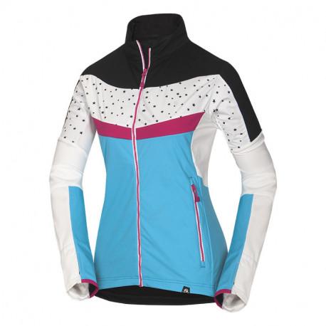 NORTHFINDER dámská ski-touring bunda Polartec® Power Stretch® PRO LUCINA