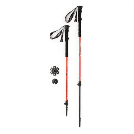 NORTHFINDER 2-parts poles skitouring aluminium 145 PERFORMANCE