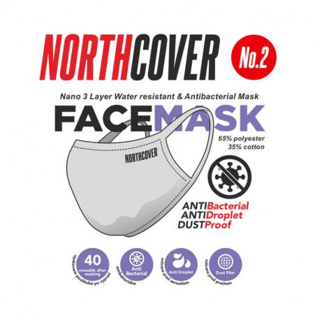 NORTHFINDER 3. vrstva antibakteriální bavlny maska 02 k opakovanému použití (balení 5 ks)
