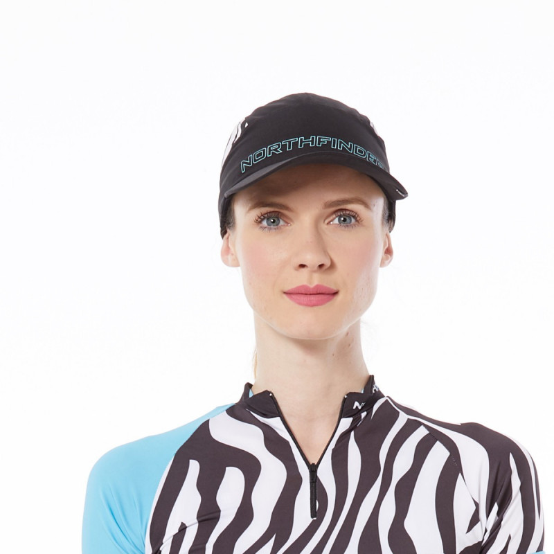 NORTHFINDER dámska bežecká čiapka celopotlačená BEWITA - NORTHFINDER dámska bežecká čiapka celopotlačená BEWITA