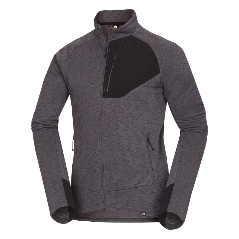 NORTHFINDER men's stretch sweater full comfort LADON - The functional men's NORTHFINDER hoodie from fast-drying material will perfectly care for your comfort in active movement and sporting performances. This extremely elastic material uses the antipilling technology and is able to maintain the shape of the cut even after the maximum has been reached. It is an ideal top layer in dry weather or as a second layer in winter. This hoodie is suitable for expeditions, hiking or sports activities.The LADON hoodie will definitely not disappoint you.