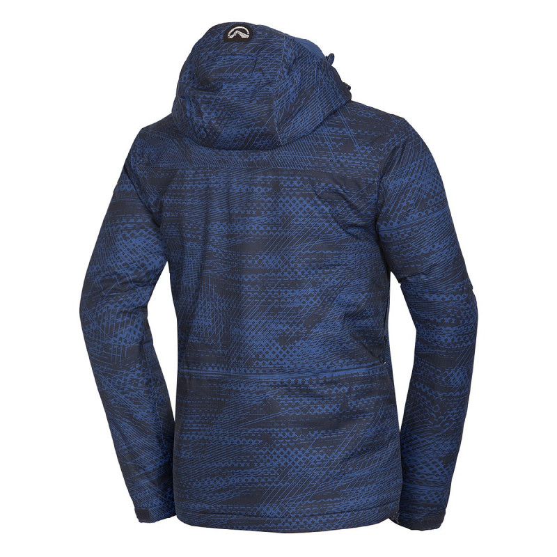 """NORTHFINDER pánská bunda allowerprint izolované sníh série 2L AMOSY - Celopotlačená dizajnová pánska bunda z kolekcie ,,Snowserie"""" značky NORTHFINDER so SEAL vypchávkou poskytne skvelú ochranu pred zimou a snehovými prehánkami. Bunda je vybavená množstvom praktických vreciek, vktorých si môžete uschovať vaše cennosti, okuliare, skipass a pod. Dôležitými prvkami je podlepenie všetkých švov, nastaviteľná vstavaná kapucňa, tvarované rukávy a mnoho ďaľších. Vynikajúca izolačná bunda z vetruvzdorného materiálu je vhodná na všetky lyžiarske, snowboardové, či freeridové aktivity. Spoľahlivo Vás zahreje a zároveň Vás neprefúkne. Kombinovateľná s nohavicami MACCOY (NO-3575SNW). S bundou AMOSY Vás pocit zimy nemôže prekvapiť."""