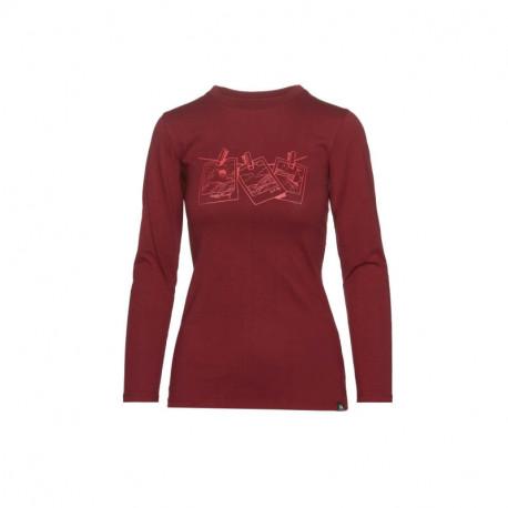 NORTHFINDER dámské bavlněné tričko s potiskem
