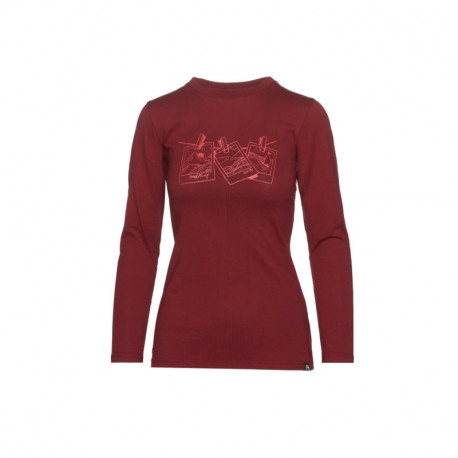 NORTHFINDER dámske tričko bavlna s potlačou VANPITA