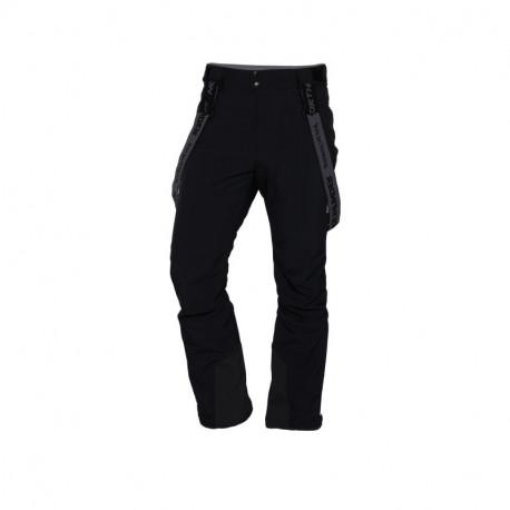 NORTHFINDER pánske nohavice lyžiarske stretch softshell plná výbava HARSY