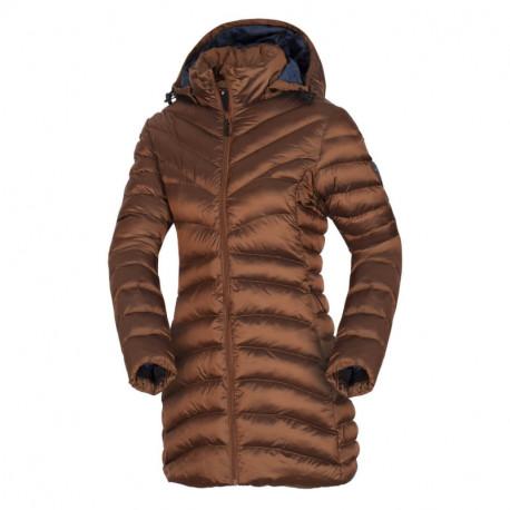 NORTHFINDER women's likedown jacket metalic style with hood