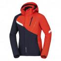 Pánská bunda lyžařská prodloužená zateplená KINJAN