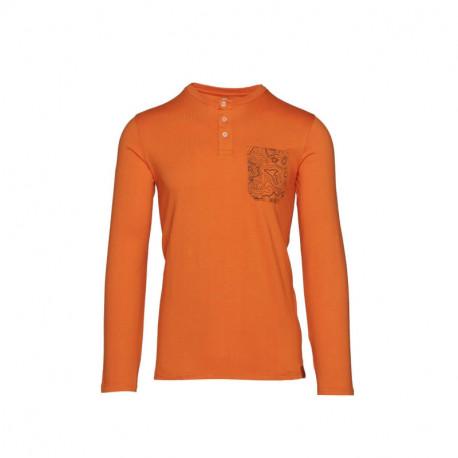 NORTHFINDER pánske tričko bavlna s potlačou RODZER