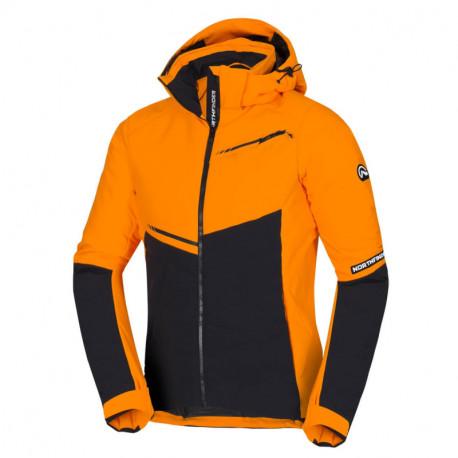 NORTHFINDER vytelená pánská lyžařská bunda s plnou výbavou
