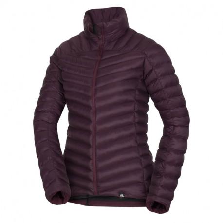 NORTHFINDER women's jacket insulated metalic style fur VLADISLAVA