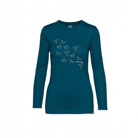 NORTHFINDER women's t-shirt cotton printed SEWIRA