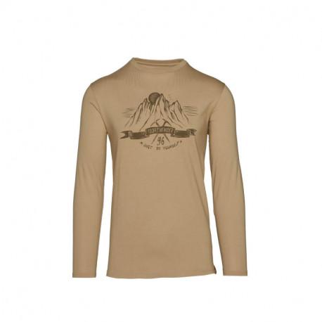 NORTHFINDER men's organic cotton t-shirt