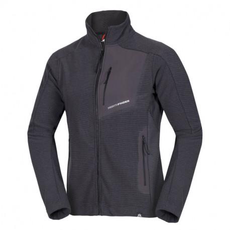 NORTHFINDER men's Polar Fleece sweater Marled style 270gsm