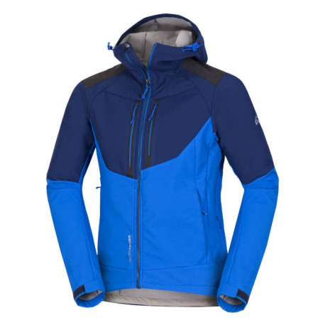 NORTHFINDER pánska bunda stretch softshell all-weather 3L BROSDY