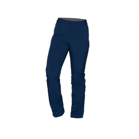 NORTHFINDER dámské kalhoty softshell travel styl 3L VINSTORIA