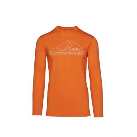 NORTHFINDER pánske tričko bavlna s potlačou SEMUEL