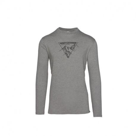 NORTHFINDER men's cotton t-shirt printed VANPY