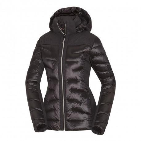 NORTHFINDER dámská bunda glamour do chladného a mokrého počasí EXTRA SIZE VYOLETA