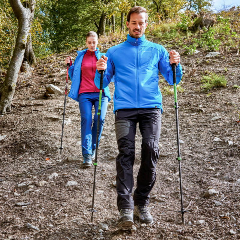 Poles NORTHFINDER 3-parts poles trekking aluminium 135 TATRA PEAK for only  34.9 €   Northfinder