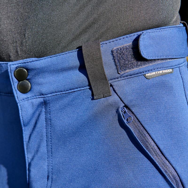 NORTHFINDER pánske softshellové nohavice SITNO - NORTHFINDER pánske softshellové nohavice SITNO