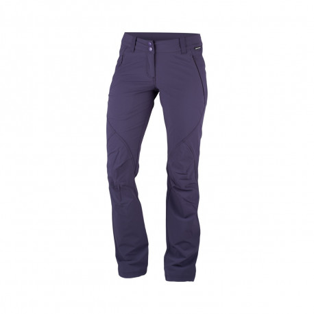 NORTHFINDER dámské kalhoty strečové 1 vrstvé MELANY
